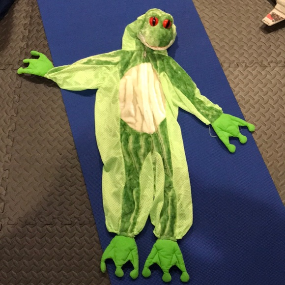 frog costume halloween costume toddler kid 3t4t